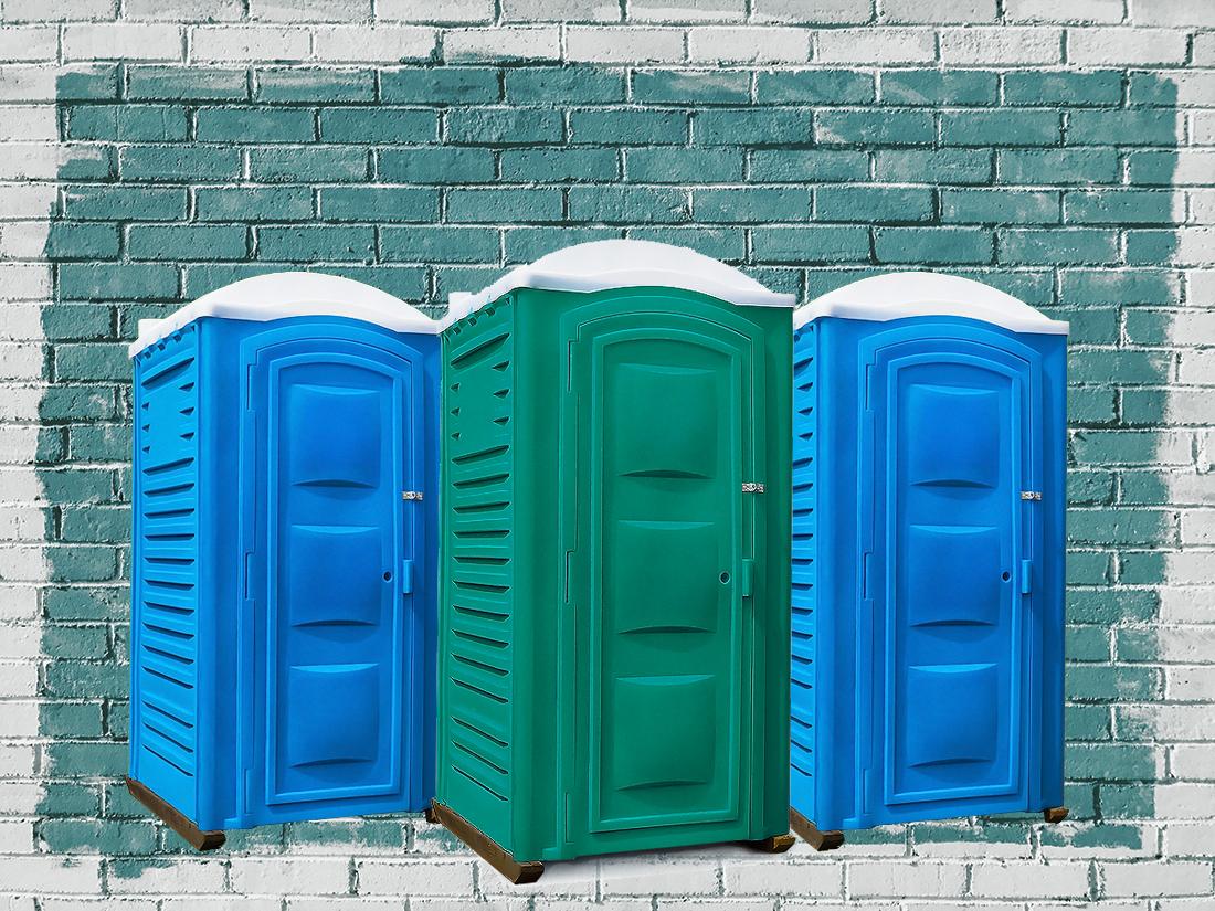 Купить туалетную кабину б/у