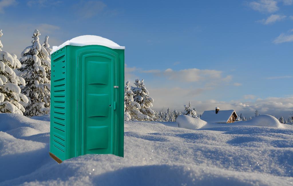 Утеплённый пластиковый туалет