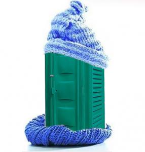 Утеплить биотуалет для зимы своими руками