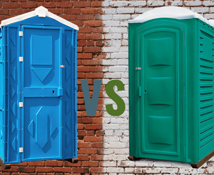 Туалетная кабина «Эконом» VS «Стандарт»