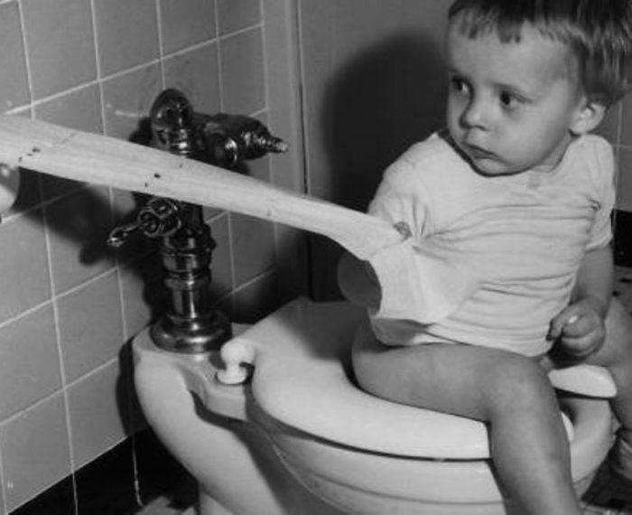история туалета