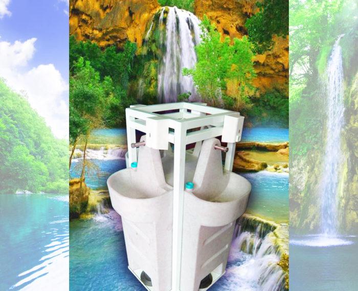 Умывальник для туалетной кабины