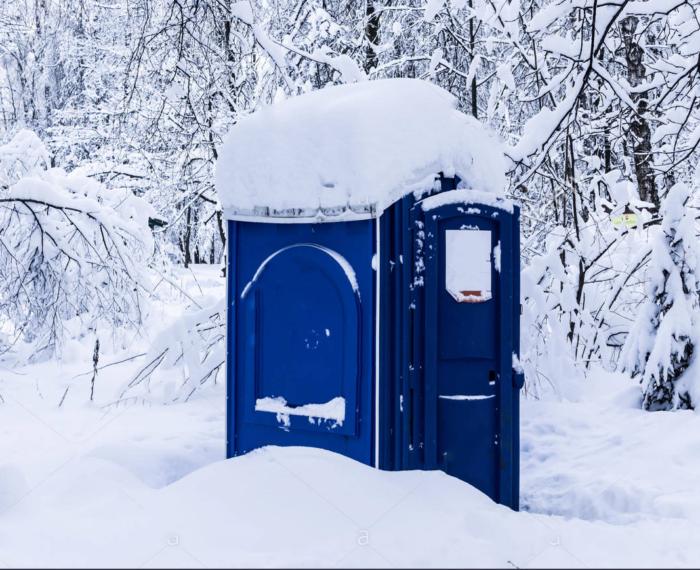 как разморозить биотуалет зимой