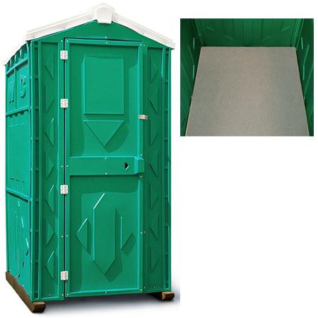 туалетная кабина без пола